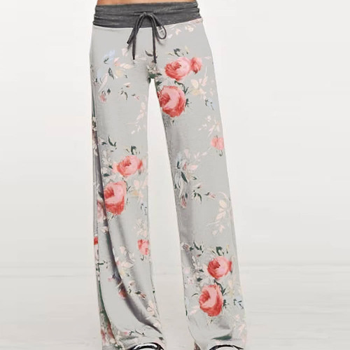 mujeres casual pantalones sueltos boho #11 2xl