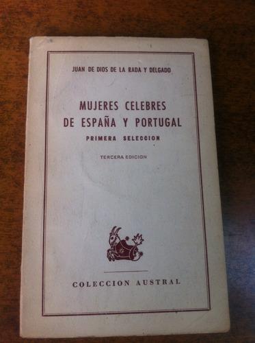 mujeres celebres de españa y portugal