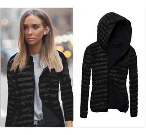 mujeres chaqueta parka cremallera abrigos abrigo de tela bro