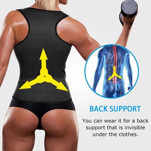 mujeres fitness chaleco de peso pérdida cintura entrenador
