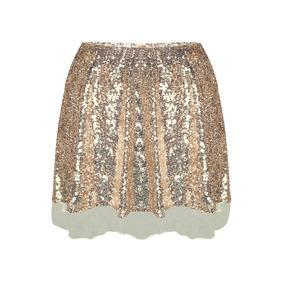 c5e20fd1f1 Falda Lentejuelas - Faldas de Mujer al mejor precio en Mercado Libre ...