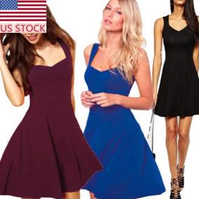 bc6d3e96a Vestido Para Fiesta En Playa - Vestidos Cortos para Mujer en Mercado ...