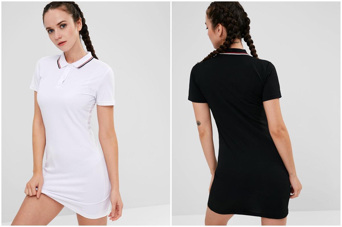 Vestidos negro blanco