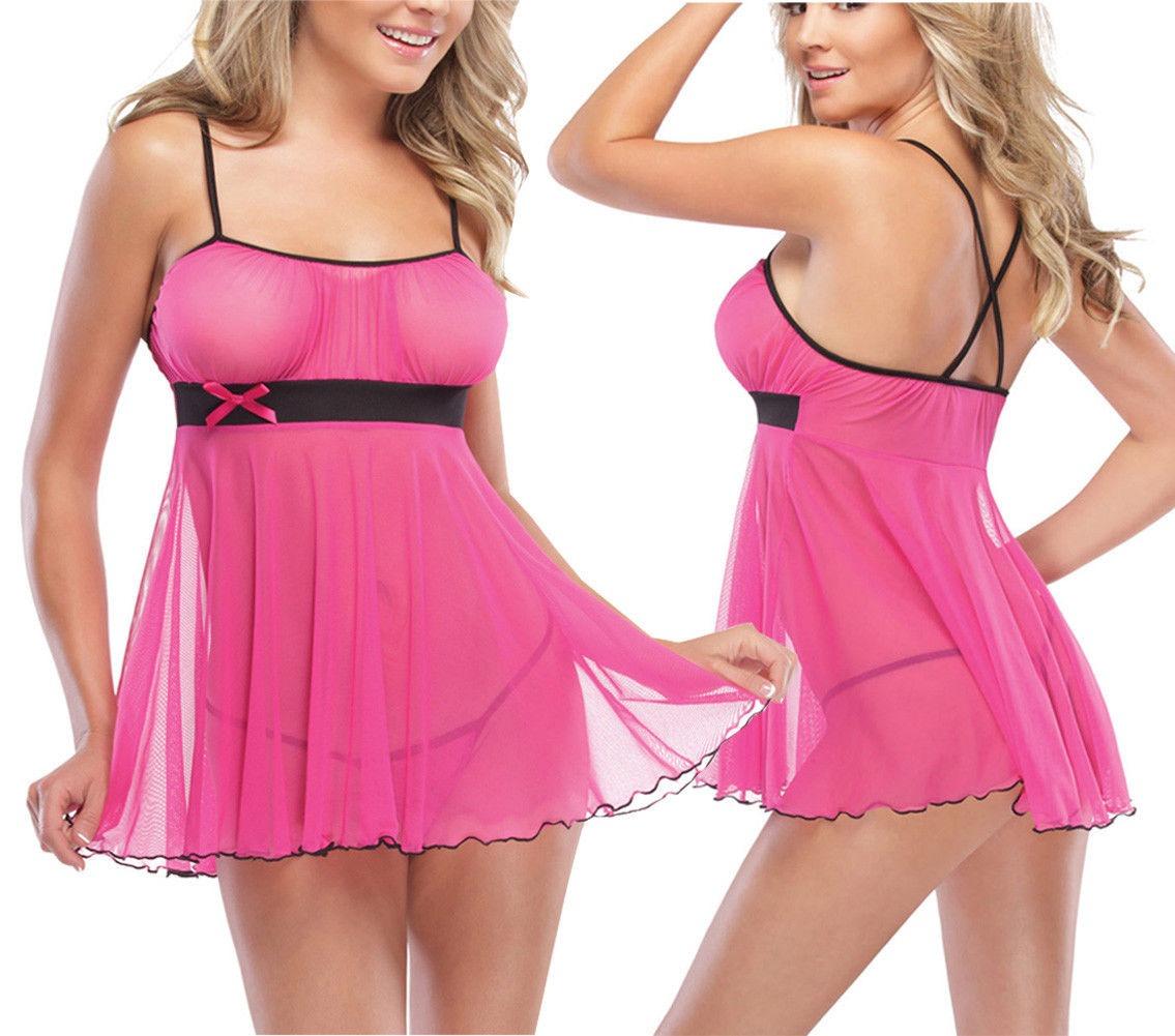 Mujeres Ropa Interior Sexy Mini Vestido Ropa Interior - $ 86.990 en ...