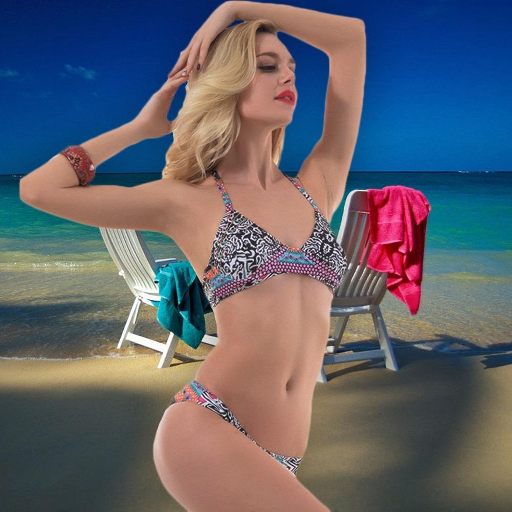 53882f45c9b4d mujeres  s bikini set nuevo sexy mujeres bikini negro l. Cargando zoom.