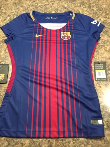 Mujeres  S Nike Fc Barcelona Inicio Fútbol Camiseta De Fút ... 7e2c4e4b882