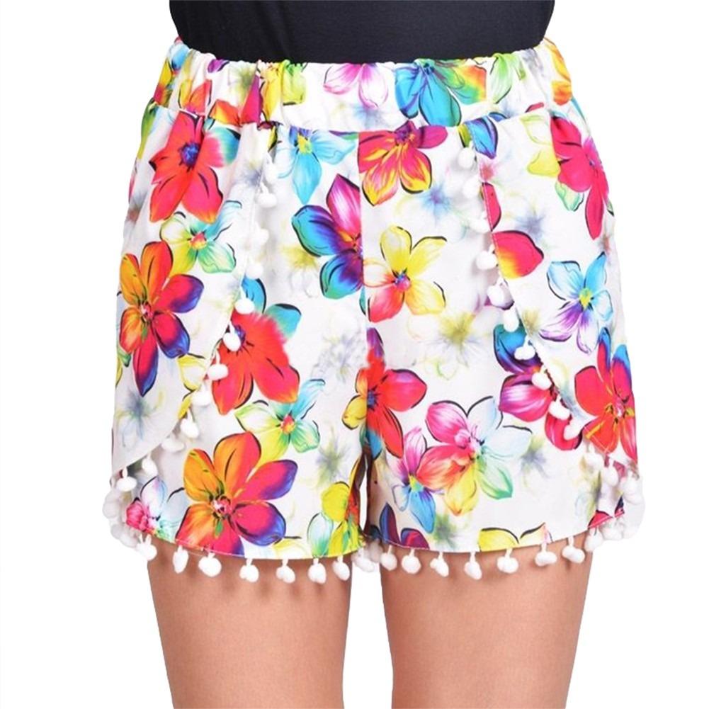 45530b3b58a Mujeres  s Pantalones Cortos Mujeres Pantalones Cortos Color ...