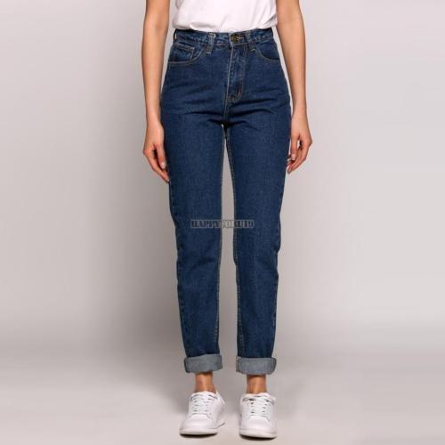 mujeres señoras slim skinny jeans de... (dark blue.)