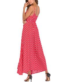 170fca799a Vestido Rojo Puntos Blancos Talla Otros Modelos - Vestidos de Mujer ...