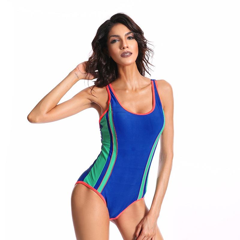 Mujeres Traje De Baño De Sports Body Uno Pieza Natación Ba ... d0eea53b243c