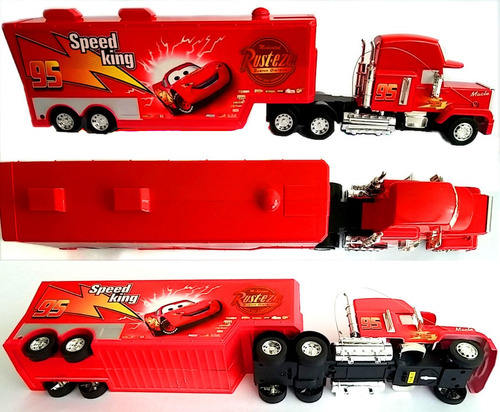 mula camion tractomula cars mack rayo mcqueen control remoto