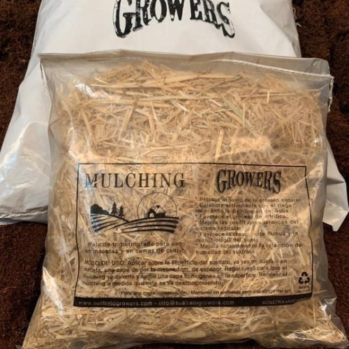 mulching (paja de trigo) 5l