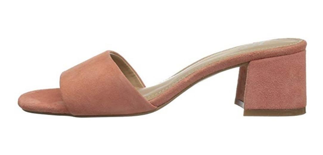 Mule Zara Mca Piel The Gamuza Sandalia Fix 5LA4Rj3