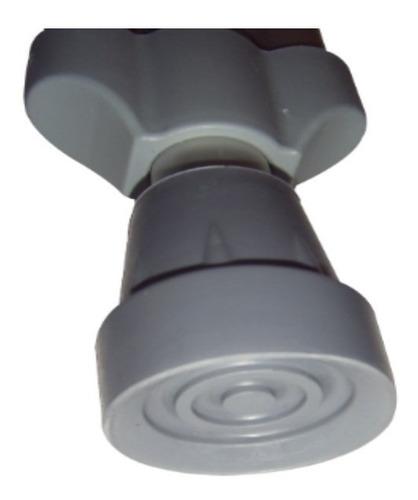muletas axilares con ajuste telescópico