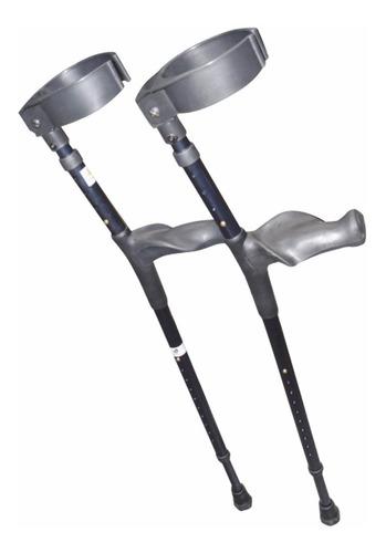muletas canadienses reactiv de aluminio, adulto, ajustables