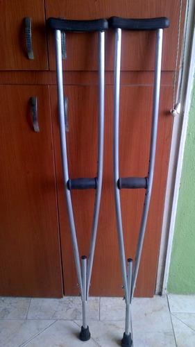 muletas de aluminio (el par)