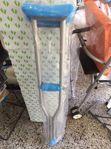 muletas de aluminio liviana regulable en altura
