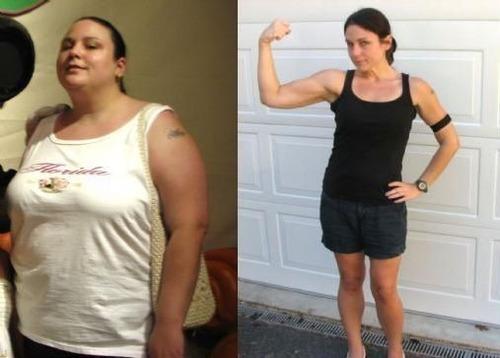 mulher fitness em casa