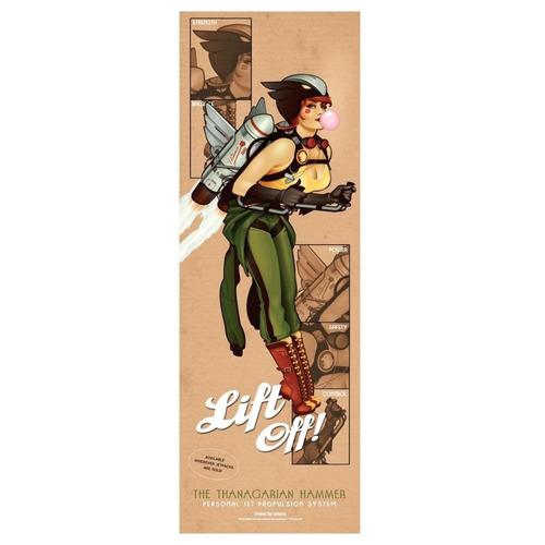 mulher gavião - poster omelete box