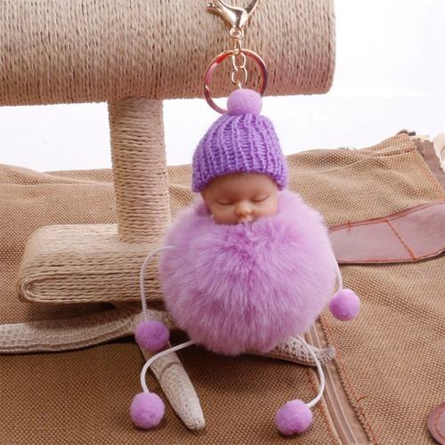 mullido little durmiente bebé foot muñeca falso piel bolalin