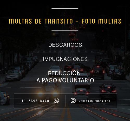 multas de transito - fotomultas - abogados especializados