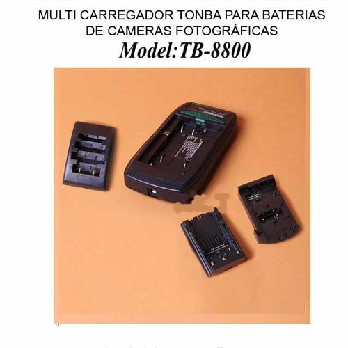 multi carregador baterias de cameras fotograficas  un
