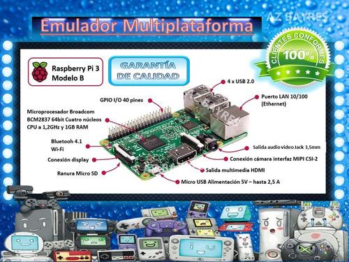 multi consola psp dreamcast ps1 neogeo mame + de 4k juegos
