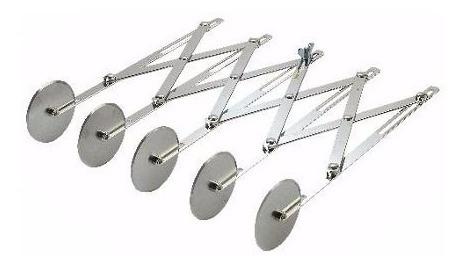 multi corta pasta bicicleta 5 rodillos fideos lasagna raviol