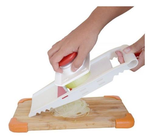 multi cortador 5 em 1 batata ralador saladas trava apoiador