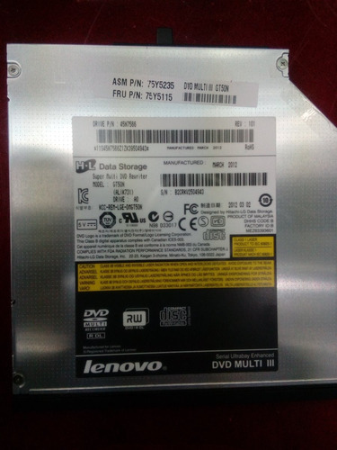 multi dvd de laptop lenovo