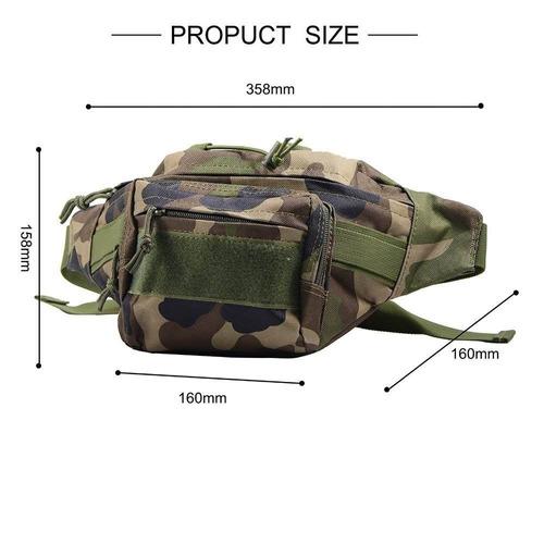 multi-funcional tactical waist pack militar m + envio gratis