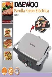 multi grill panini daewoo 4 rebanadas indicador led cocina