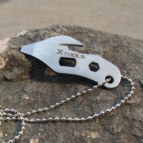 multi-herramienta edc xtools de acero inoxidable