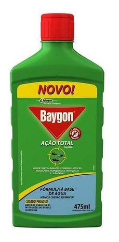 multi inseticida baygon liquido ação total 475ml