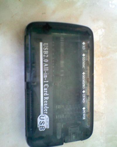 multi lector memoria tarjeta micro sd m2 pro duo mmc rs sd