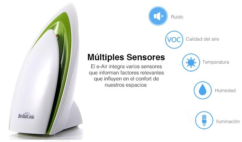 Multi Sensor A1 Broadlink Wifi Automatizacion Domotica - $ 240 900