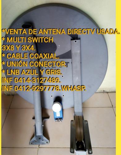 multi switch 3x8 ideal para movistar directv inter nueva 18$