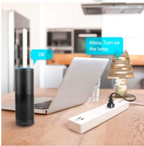 multi toma wifi app celular alexa google home smart life x4