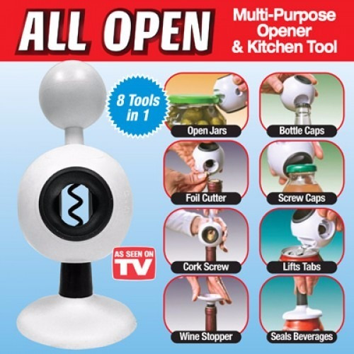 multi usos all open 8 en 1  destapa todo en segundos  tv