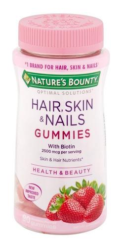 multi vitaminas biotin piel uñas y cabello 140 gummies