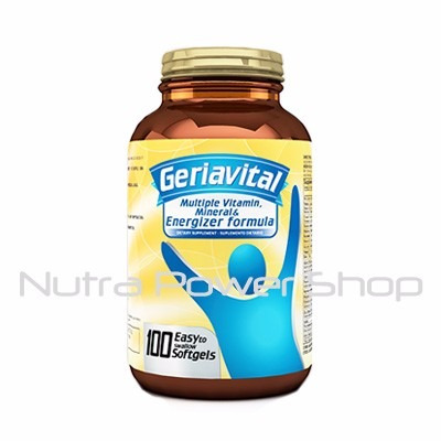 multi-vitaminico geriavital 100 softgels healty-america