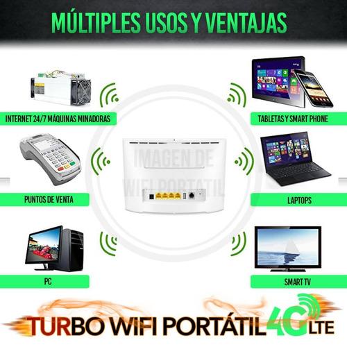 multibam digitel 4g wifi internet + línea 600gb mensuales