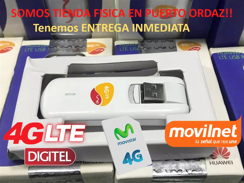 multibam huawei modem 4g lte internet digitel movistar factu