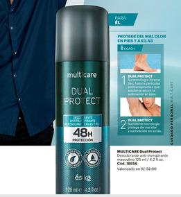 Multicare Dual Protect Spray 48 Horas Protección Axilas Pies