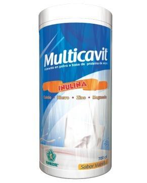 multicavit flomecol x 700 gramos - unidad a $37900