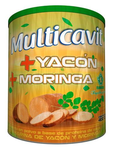 multicavit yacon + moringa flomec - unidad a $33900