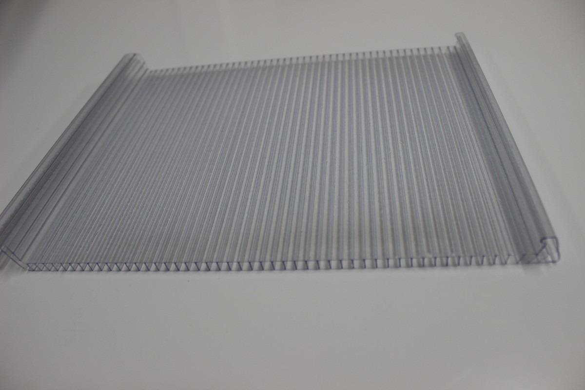 Multiclick policarbonato alveolar cristal 6mmx25cmx6000m - Cristal policarbonato ...