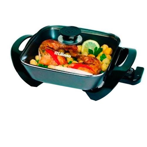 multicocina cocina eléctrica liliana ak100 kitchinet 7 en 1