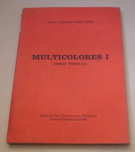 multicolores  obras poéticas