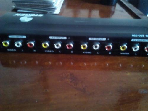 multicontacto audio y video steren